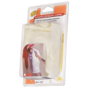 Lot of 10 disposable latex gloves